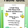 Table Quiz in aid of the Lough Derg Sub Aqua Club Search and Recovery Unit