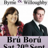 An Evening with Mary Byrne & Des Willoughby at Brú Ború, Cashel 20th September
