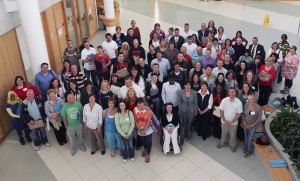 Participants on the Waterford Institute of Technology's 2013 Summer School for Mature Students. Students typically hail from Waterford, Tipperary, Wexford, Carlow, Laois, Cork, Dublin and Kildare.