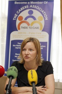 Catherine Cox, spokesperson The Carers Association